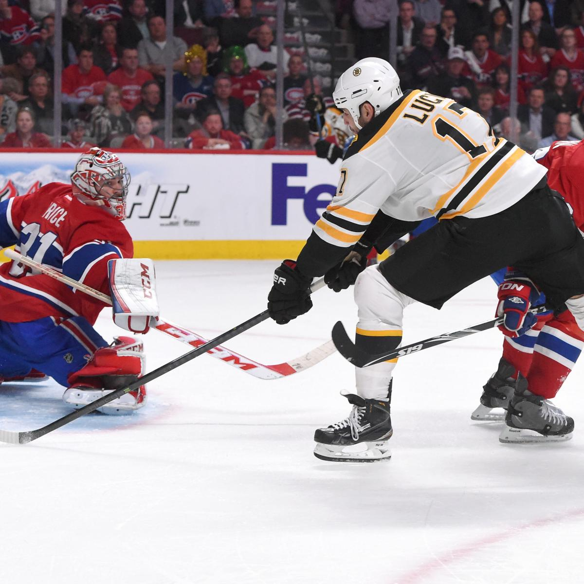 Boston Bruins Vs. Montreal Canadiens Game 4: Live Score