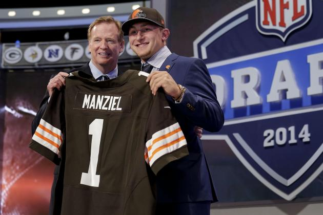 Twitter Reacts as Johnny Manziel Slides to Cleveland Browns in 2014 NFL Draft