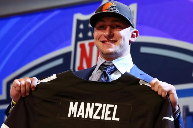 Johnny Manziel's Full Rookie Season Projections with Cleveland Browns