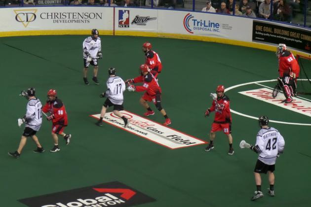 Edmonton Rush Appear Poised to Win the 2014 Champion's Cup