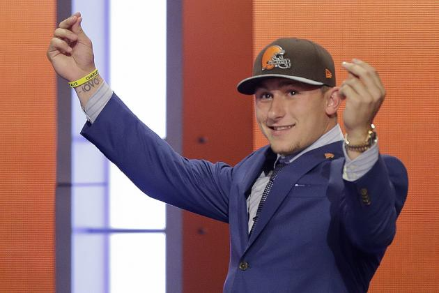 NFL Draft Results 2014: Initial Round 1 Grades and Updated Selection Order