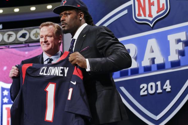 2014 NFL Draft Results: Full Listings of Grades for 1st-Round Selections