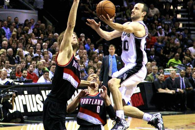 Portland Trail Blazers vs. San Antonio Spurs: Live Score and Analysis