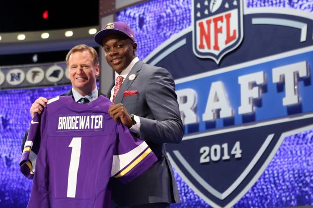 Why the Minnesota Vikings Got Draft's Biggest Steal in QB Teddy Bridgewater