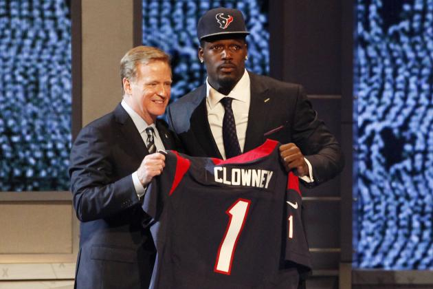 2014 NFL Draft Grades: Team-by-Team List of Scores and Overall Round 1 Analysis