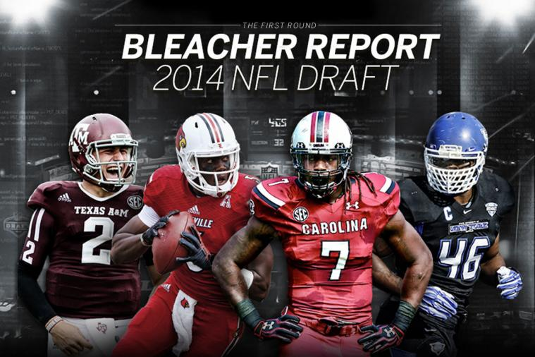 Infographic: Complete 2014 NFL Draft 1st-Round Results