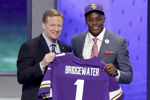 NFL Draft Order 2014: Updated Selection List Following Round 1 Results