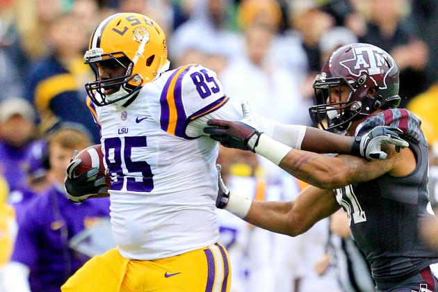LSU Football Film Study: Why the Tigers Tight Ends Need to Step Up Next Season