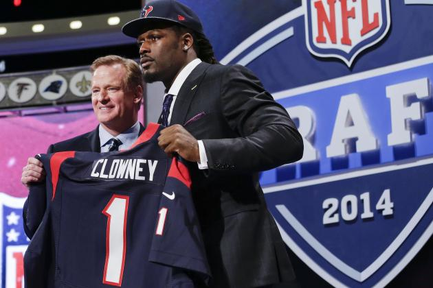 2014 NFL Draft Grades: Round 1 Results and Scores for Each Team