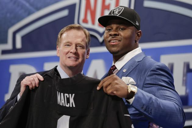 NFL Draft 2014 Results: Complete Overview and Grades of Round 1 Action