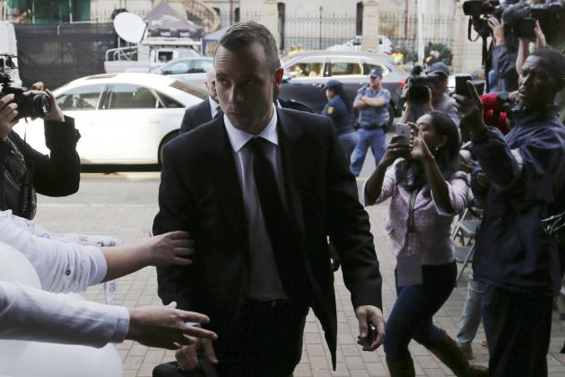 Oscar Pistorius Trial: Live Stream and Latest Details from Reeva Steenkamp Case