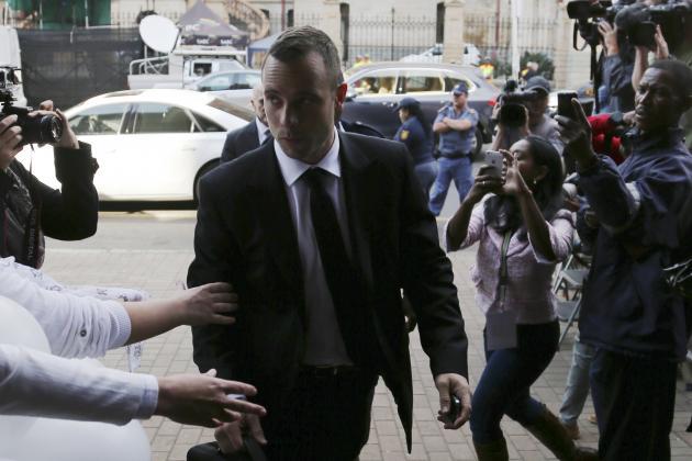 Oscar Pistorius Trial: Live Stream and Latest Details from Reeva Steenkamp Case