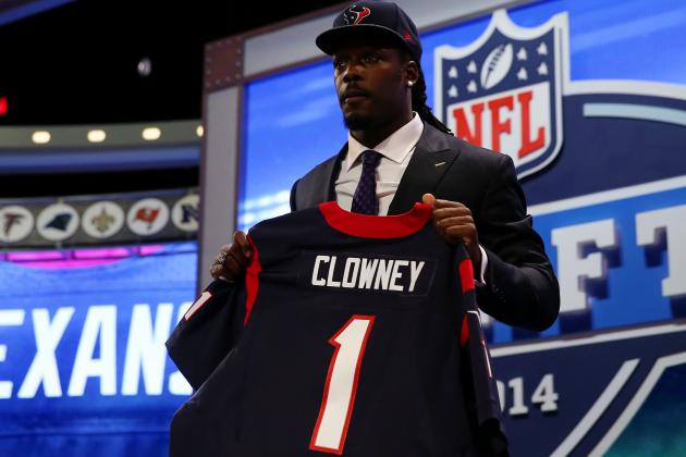 NFL Draft Grades 2014: Overview of Team-by-Team Grades After Day 1 Results