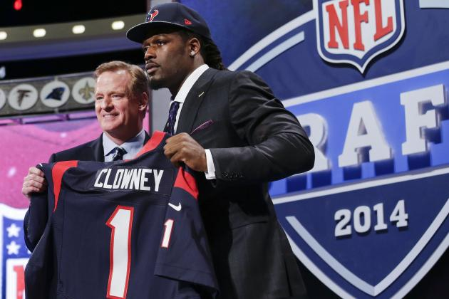 2014 NFL Draft Grades: Team-by-Team Letter Marks After Round 1 Results
