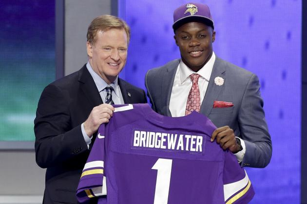 NFL Draft Picks 2014: List of Round 1 Grades and Updated Order for Each Team