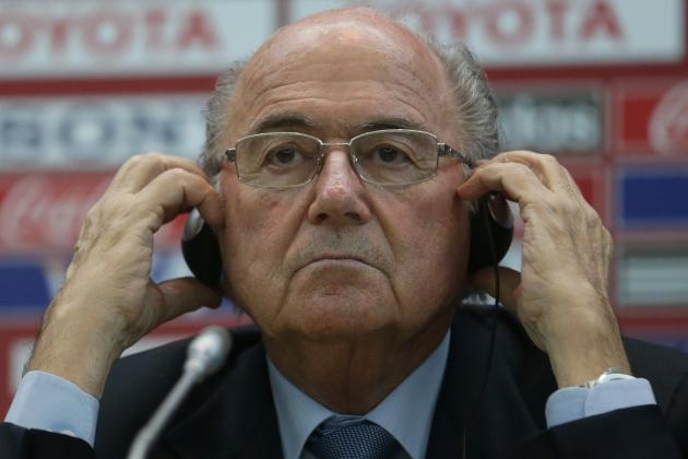 Twitter Reacts to Sepp Blatter's Decision to Stand for FIFA President Again