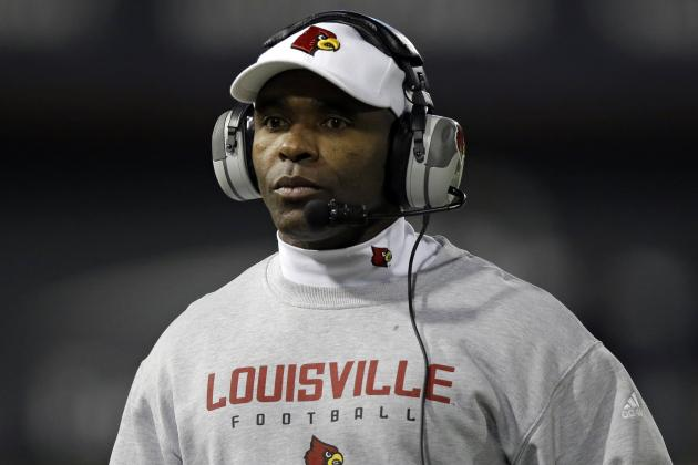 Louisville's 2014 Draft Success a Reminder Charlie Strong Will Be Fine at Texas