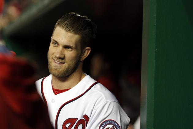 Bryce Harper Has Fun with NFL Draft, Jadeveon Clowney Pick on Twitter