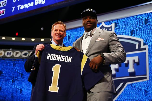 2014 NFL Draft Grades: Day 1 Results and List of Marks for Each Franchise