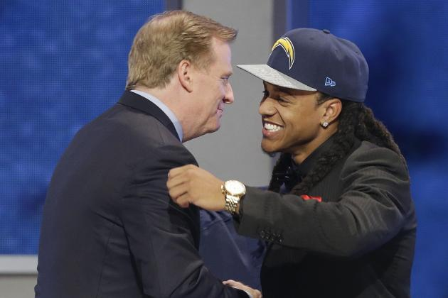 Chargers Pick Jason Verrett in 1st