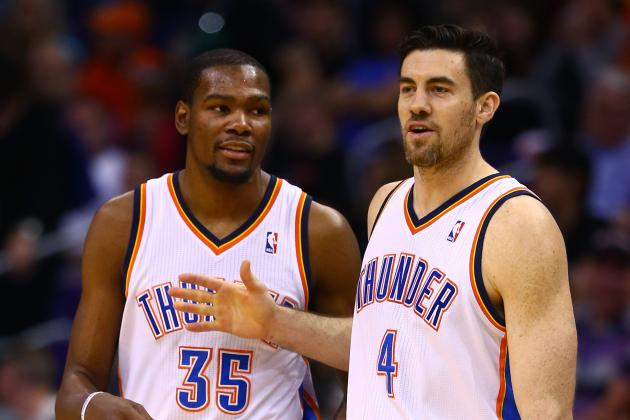 Nick Collison Pens Column and Reveals What It's Like to Play with Kevin Durant