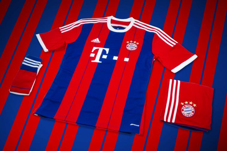 Bayern Munich Unveil New Home Kit for 2014-2015