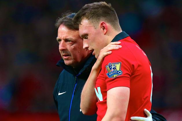 Phil Jones Injury: Updates on Man United Star's Shoulder and Return