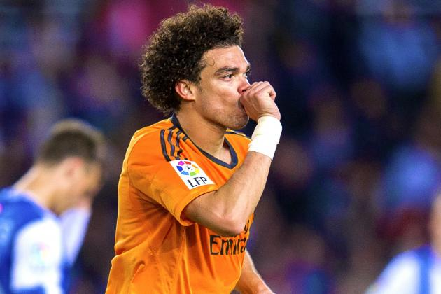 Pepe's Injury Would Be a Huge Blow for Real Madrid's La Decima Hopes