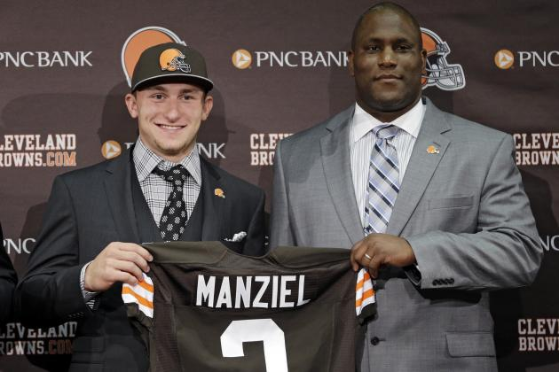 Johnny Manziel Draft Maneuver Proves Ray Farmer Is Up to Task as Browns GM