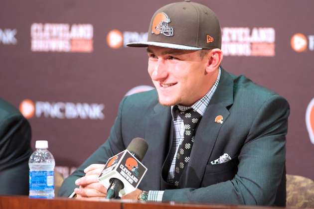 Biggest Takeaways from Johnny Manziel's First Browns Press Conference