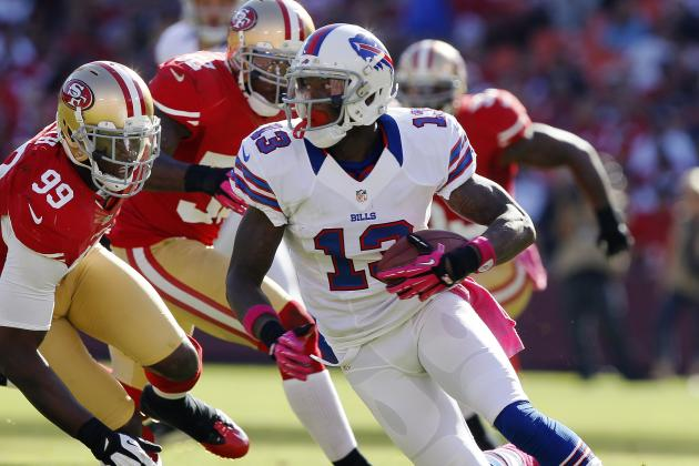 49ers Trade 2015 Pick for WR Stevie Johnson