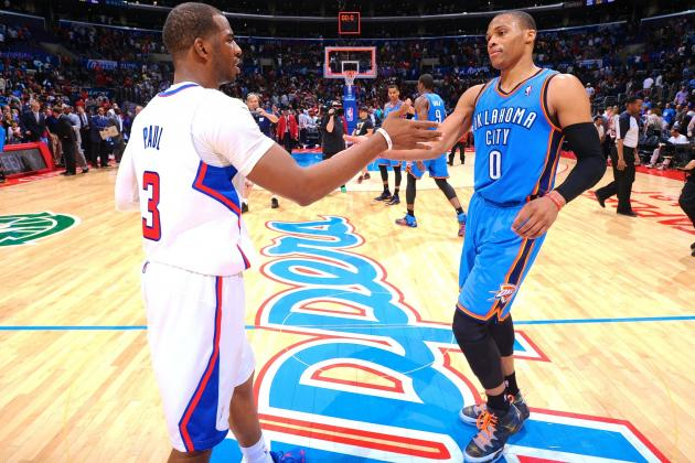 Russell Westbrook vs. Chris Paul Battle Will Define Clippers-Thunder Series