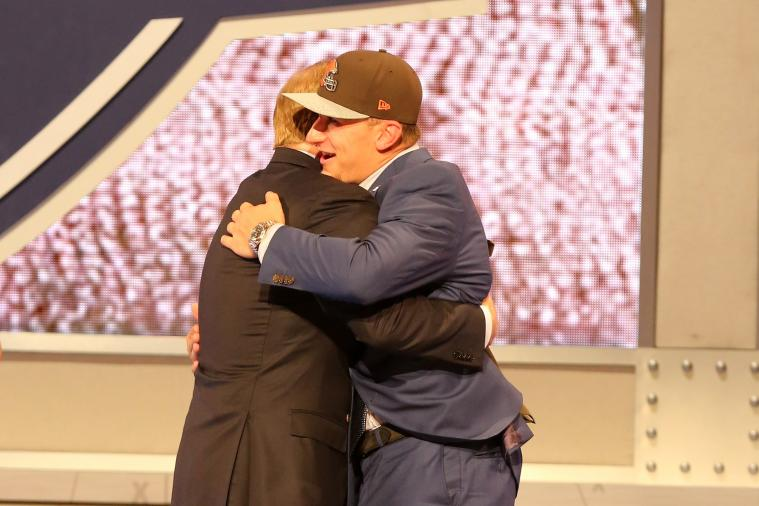 Supercut of NFL Draftees Hugging Roger Goodell Makes Commissioner Look Creepy