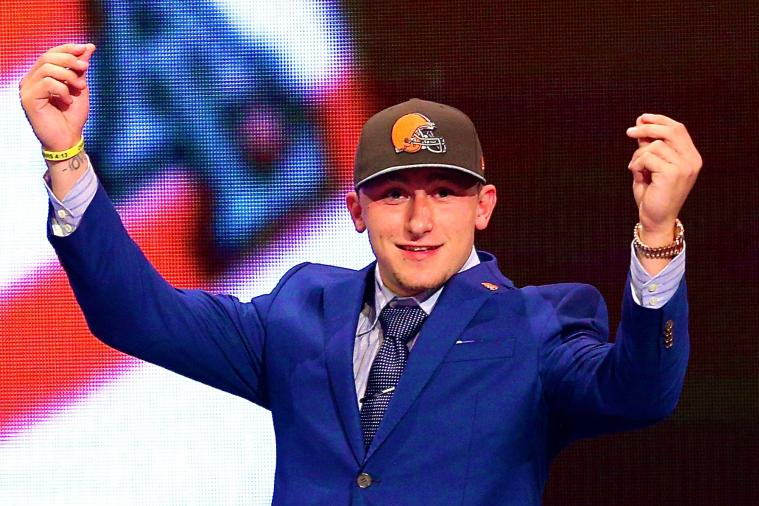 Johnny Manziel Treated College Station Bar to Drinks on Draft Night