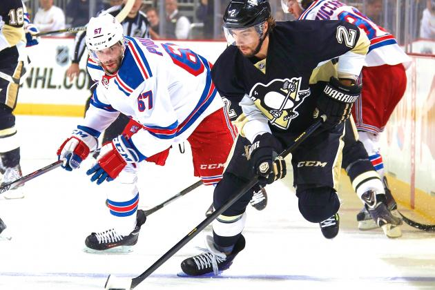 Pittsburgh Penguins vs. New York Rangers Game 5: Live Score and Highlights
