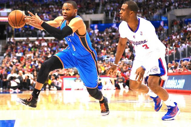 Oklahoma City Thunder vs. Los Angeles Clippers: Live Score and Analysis
