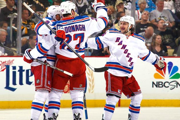 Rangers vs. Penguins: Game 5 Score and Twitter Reaction from 2014 NHL Playoffs