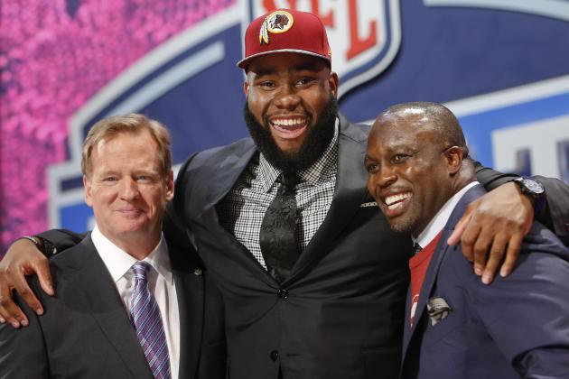 Redskins Show Strong Priorities on Day 2 of the NFL Draft