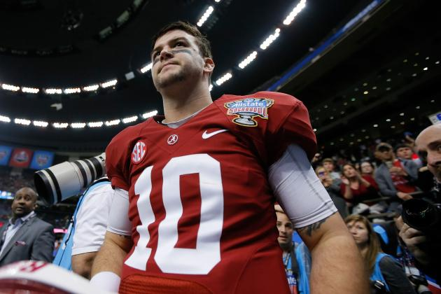 Twitter Reacts as AJ McCarron Falls Out of First 3 Rounds of 2014 NFL Draft