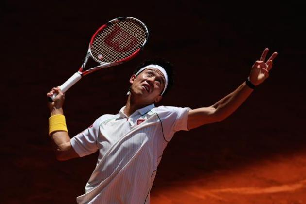 Kei Nishikori Establishes Himself as a French Open Favorite