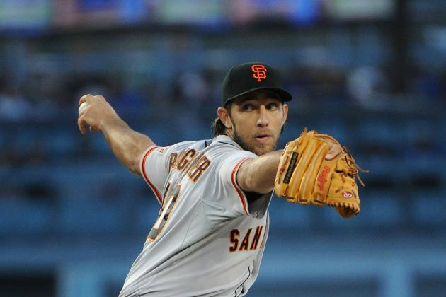 Giants LHP Bumgarner Stifles Dodgers in 3-1 Win