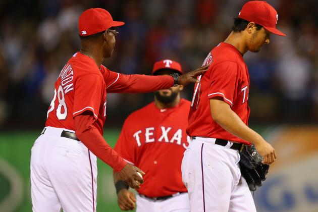 Yu Darvish Stays Positive About Missed No-Hitter