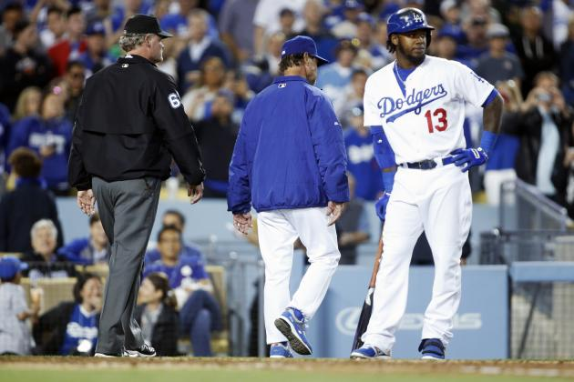 Dodgers Skipper Don Mattingly Ejected in Loss to Giants