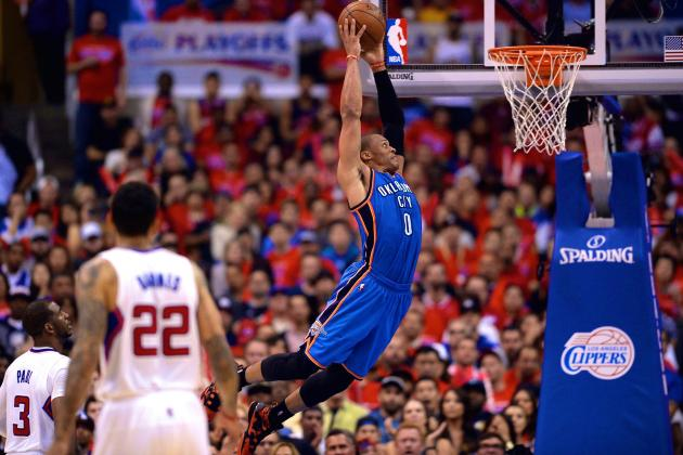 Thunder vs. Clippers: Game 3 Score and Twitter Reaction from 2014 NBA Playoffs