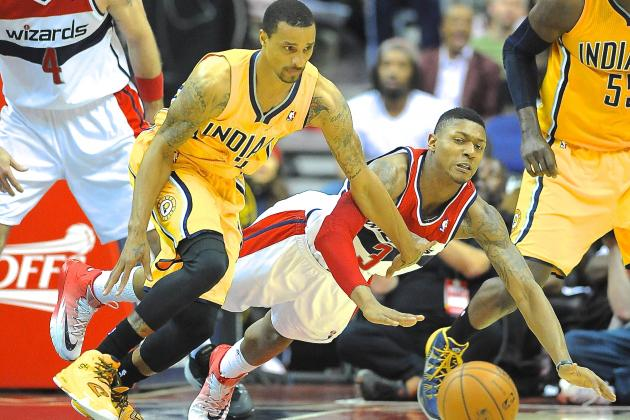 Pacers Silence Wizards in Ugliest Game of 2014 NBA Playoffs to Date