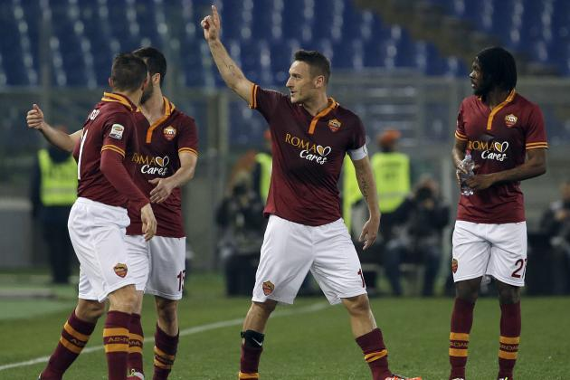 How AS Roma Will Line Up Against Juventus
