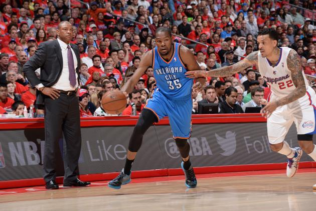 Kevin Durant, OKC Use Savvy, Skill to Take Control of Clippers, and a Lot More
