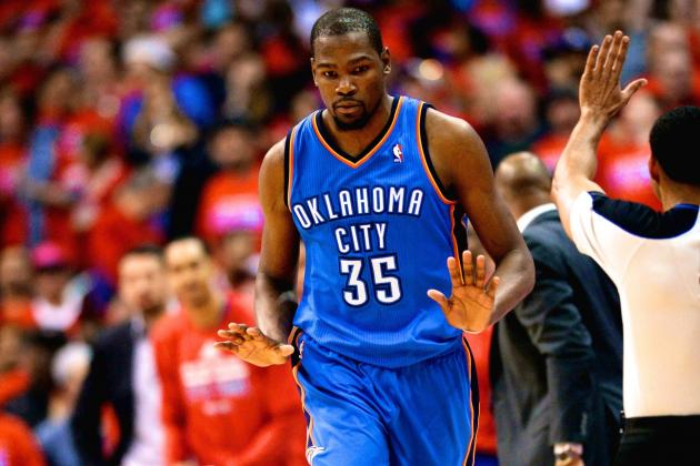Thunder Win Game 3, but Is OKC Relying Too Heavily on MVP Kevin Durant?