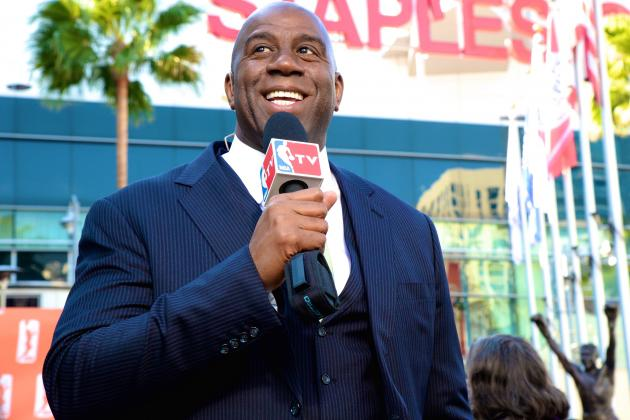 Magic Johnson: Los Angeles Clippers Will Not Play for Sterling Family