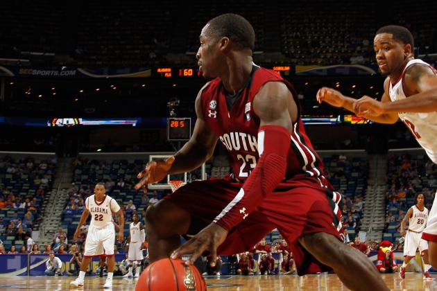 Ex-South Carolina PG Ellington Drafted by 49ers in NFL Draft
